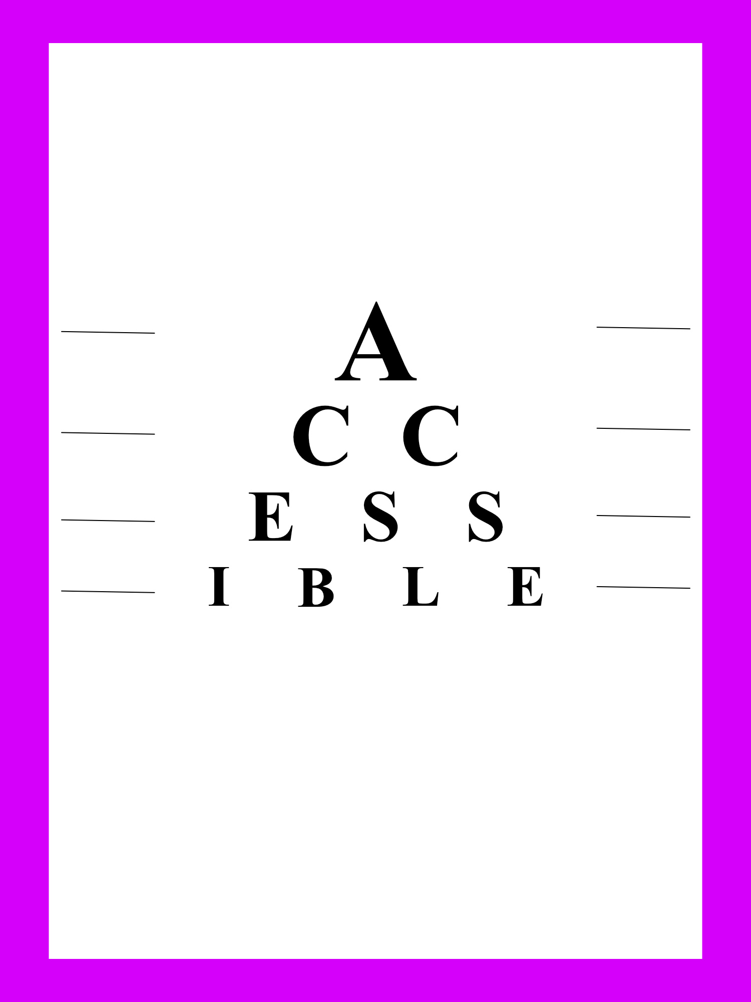 Was ist Accessibility